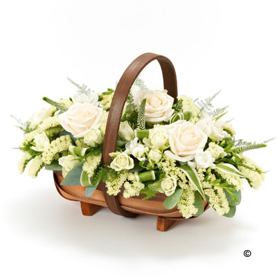 Mixed Basket - White Basket