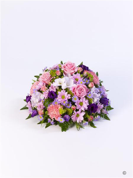 Large Classic Lilac and Pink Posy
