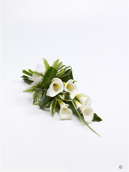 Calla Lily Sheaf white