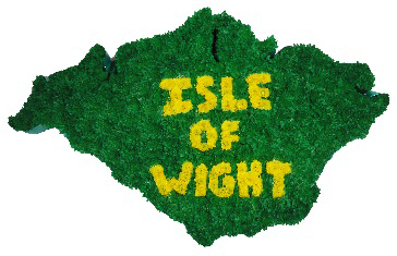 SG 71 ISLE OF WIGHT MAP