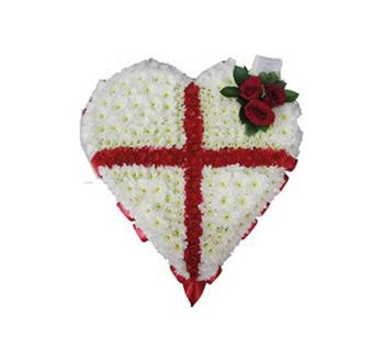 HC 03 ST GEORGE FLAG HEART