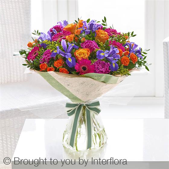 Extra Large Summer Blooming Brights Hand-tied