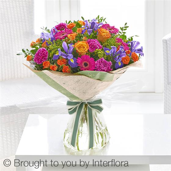 Large Summer Blooming Brights Hand-tied